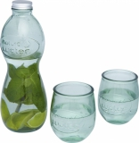 AUTHENTIC 3-częściowy zestaw szkła z recyclingu Brisa (11313201)
