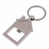 Brelok otwieracz Open House, srebrny z logo (R73155.01)