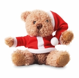 CLAUSI ?Miś w świątecznym ubranku. z logo (CX1395-05)