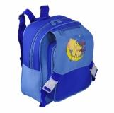 Plecak dziecięcy Teddy, niebieski z logo (R08540)