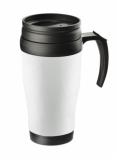 Kubek termiczny CLASSIC COLOR 400 ml biały (17613-01)