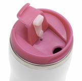Kubek izotermiczny Askim 350 ml, różowy z logo (R08225.33)