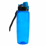 Bidon Jolly 700 ml, niebieski z logo (R08294.04)