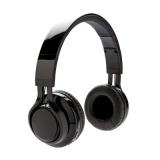 Bezprzewodowe słuchawki nauszne z podświetleniem logotypu (P326.271)