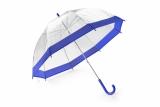 Parasol transparentny SKY niebieski (37037-03)