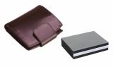 Portfel EMMA bordowy w pudełku (07034-11)