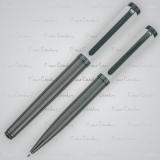 Zestaw piśmienny długopis i pióro kulkowe MARIGNY Pierre Cardin z logo (B0400800IP306)