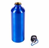 Bidon aluminiowy Easy Tripper 800 ml, niebieski z logo (R08417.04)