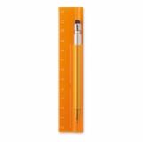 DUOTOOL Linijka 12cm z długopisem z nadrukiem (MO8628-29)