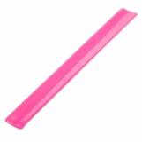 Opaska odblaskowa, różowy z logo (R17763.33)