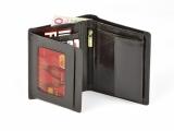 Portfel brazowy z folią Anti-RFID w pudełku (07206-09)
