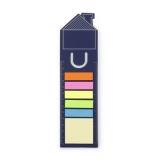 Karteczki samoprzylepne, zakładka do książki, linijka (V2552-04)