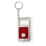 Brelok do kluczy, otwieracz do butelek z lampką LED (V5004-05)