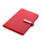 Notes z pamięcią USB 8GB czerwony, 80 kartek (17650-04)