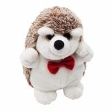 Maskotka Hedgehog, biały/brązowy z nadrukiem (R73893)