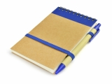 Notes z długopisem MILO niebieski, 70 kartek (17121-03)
