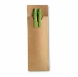 GREENSET Kpl piśmienny z papieru z nadrukiem (MO7620-48)