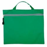Torba na dokumenty San Vincenzo, zielony z nadrukiem (R91860.05)
