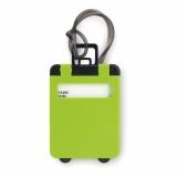 TRAVELLER Zawieszka do bagażu z nadrukiem (MO8718-09)