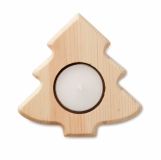 TEATREE Świecznik choinka z logo (CX1444-40)