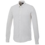 Elevate Męska koszula z długim rękawem o splocie pique Bigelow (38176010)