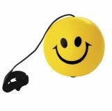 Antystres jo-jo Happy, żółty  (R73995)