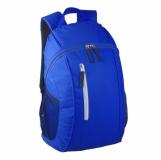 Plecak sportowy Glendale, niebieski/czarny z nadrukiem (R08642)