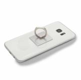 Uchwyt lub podstawka do telefonu Mobile Guard, srebrny z logo (R64329.01)