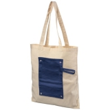 Bawełniana, zwijana torba zapinana na guzik Snap 180 g/m? (12040701)
