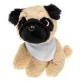 Aksel, pluszowy pies mops (HE745-18)