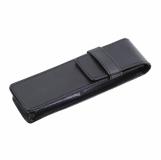 Etui na zestaw piśmienniczy, czarny z grawerem (R01031)