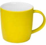 Kubek ceramiczny - gumowany z logo (8065408)