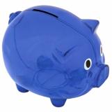 Skarbonka Moneywise, niebieski z logo (R73881.04)