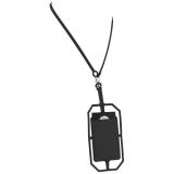 Silikonowy uchwyt RFID ze smyczą na karty kredytowe (13425800)