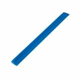 Opaska odblaskowa, niebieski z nadrukiem (R17763.04)