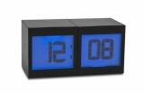 Zegar na biurko MAGIC czarny (03086-02)