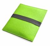 Etui filcowe na tablet zielone jasne (07154-13)