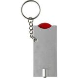 Brelok do kluczy, żeton do wózka na zakupy, lampka LED (V2452-05)