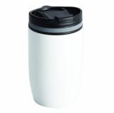 Kubek izotermiczny Syracuse 330 ml, biały z logo (R08292.06)