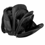 Plecak na laptopa Boise, czarny z logo (R08543)