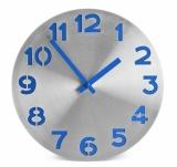 Zegar ścienny DIGIT niebieski (03059-03)
