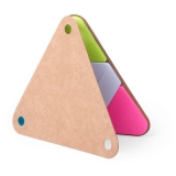 """Zestaw do notatek """"trójkąt"""", karteczki samoprzylepne (V2975-00)"""