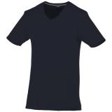 Slazenger Męski T-shirt Bosey z krótkim rękawem z dekoltem w serek (33021490)