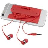 Słuchawki douszne z kablem i silikonowy portfel (13499204)