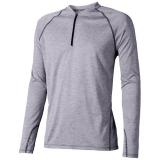 Elevate Męski T-shirt Quadra z długim rękawem z tkaniny Cool Fit odprowadzającej wilgoć (39023940)