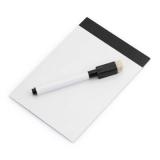Magnetyczna tablica do pisania, pisak, gumka (V7560-03)