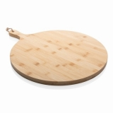 Bambusowa deska do krojenia, serwowania, okrągła (P261.029)
