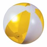 Piłka plażowa żółta przezroczysta (20086-12)