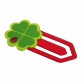 Zakładka Clover, czerwony/zielony z logo (R74011)