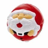 Antystres Mikołaj, czerwony/biały  (R89095)